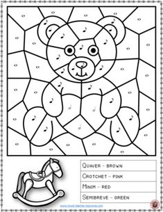 music lessons | Music Coloring Pages: 15 TOY Themed Music Coloring Sheets | music theory | #musiceducation #musiced