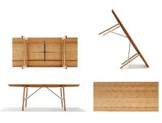 Tafel in Bamboe hout.beschikbaar in  200cm: 960 euro en 230cm: 1270 euro