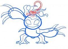 How To Draw Palmon Digimon Step By Anime Characters