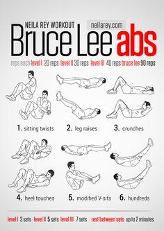 Avoir les abdos de bruce lee #abdos #abdo #fitness #muscu #gym