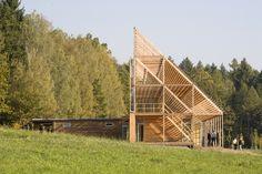 e-MRAK - Administração do Bosque de Pisek, Pisek, Czech Republic (2010) #public #publicfacilities