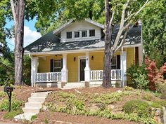 The yellow exterior really adds to the charm of this Asheville home. 570332  Most Popular Sept. 13-19