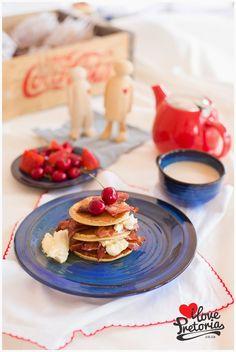 I Love Pretoria | Mascarpone & Crispy Bacon Stack Recipe Pretoria, Bacon, My Love, Breakfast, Recipes, Food, Mascarpone, Morning Coffee, Eten