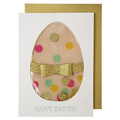 Celebrate Easter with this beautifully designed card that is embellished with…
