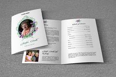Funeral Program Template-T564  @creativework247
