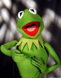 """Have you seen the muppets yet? Kermit was always on the for front of the """"Going green"""" movement! :)"""