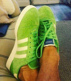 new styles e99da 30c72 Latest Adidas Spezial photo release of the greenwhite München Super  Spezial - launches in