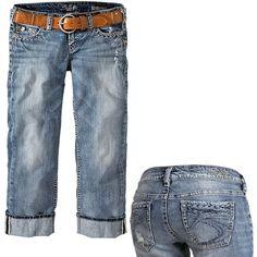 SILVER JEANS Capri-jeans. love it!