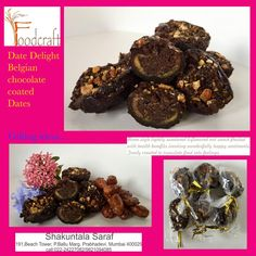 Date Delight- Belgian chocolate coated Dates. Perfect gifting ideas for Diwali