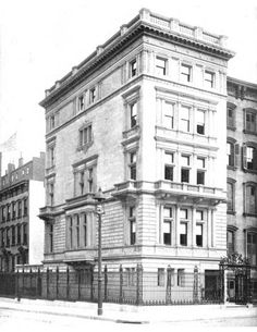 corner of Madison Ave and 41 st.  1900