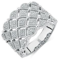 Michael Hill 0.18 CARAT TW DIAMOND RING