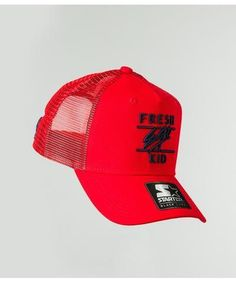 45b5ef447e1 Fresh Ego Kid Mesh Trucker Cap Red Navy-Fresh Ego Kid-Gym Wear