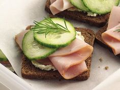 Smokey Ham & Cream Cheese Tea Sandwiches Recipe