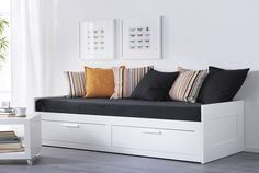 IKEA Guest beds & day beds 250$. To use in playroom as bench, and pull out bed for visitors
