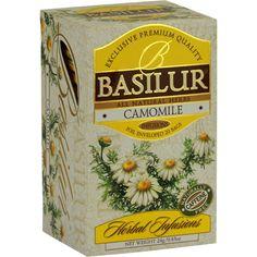 Buy BASILUR - HERBAL INFUSION - TEA BAG - CAMOMILE (NEW SHAPE) by SVA India Limited, on Paytm, Price: Rs.299?utm_medium=pintrest
