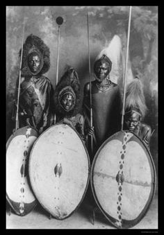 Masai Warriors c1920