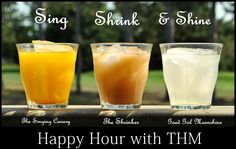 Happy Hour with Trim Healthy Mama!  Singing Canary is my favorite.  :)