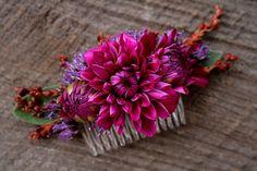 fresh floral comb