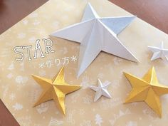 Diy And Crafts, Arts And Crafts, Paper Crafts, Birthday Party Decorations, Birthday Parties, Half Birthday, Christmas Interiors, Star Wedding, Kirigami