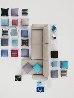 Divano modulare PLACE SOFA by @vitra design Jasper Morrison