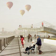 Brooklyn Bridge Park Pier 6 by BIG