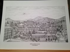 Hey, I found this really awesome Etsy listing at https://www.etsy.com/listing/242262822/appalachian-state-12x16-panoramic-print