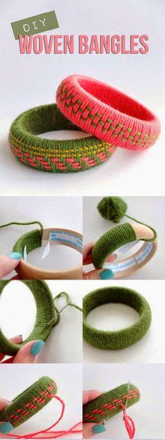 EL JARDIN DE LOS SUEÑOS: DIY pulsera de lana