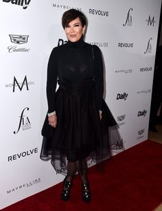 """Pin for Later: Das """"Who is Who"""" der Mode feierte bei den Daily Front Row Awards Kris Jenner"""