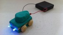 A safe and alternative way for children to learn about circuitry as well as have fun playing with play dough.