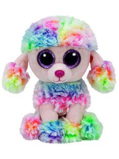 d9024f19ad5 TY Beanie Boo - Rainbow The Multicoloured Poodle