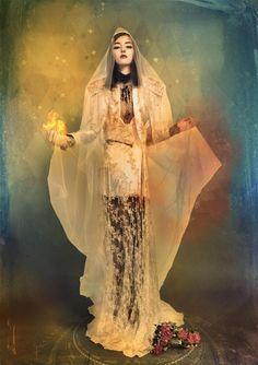Andre Sanchez #goth #illustration #photography #fashion