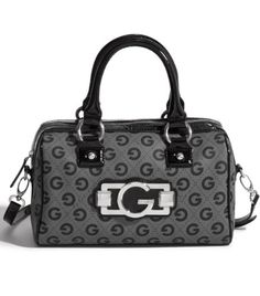 G by GUESS Felice Logo Box Satchel Closet Essentials 34909d25aadfd