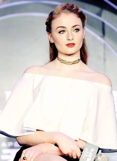 Sophie Turner attends the X-Men Apocalypse's press conference in Beijing (May 18, 2016)