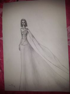drawing Drawings, Art, Fashion, Sketches, Craft Art, Moda, Sketch, Kunst, Fasion