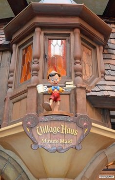 Pinocchio's Village Haus - during my first few visits at Disney World when I was a young lass, I would stuff my face with chicken tenders at this very place.