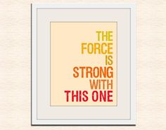 Star Wars quote for nursery
