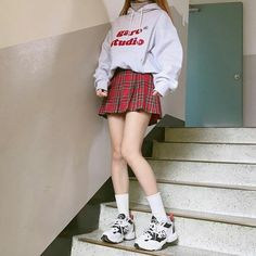 Korean Outfits image about ulzzang in korean outfits ahgasenoona Korean Outfits. Here is Korean Outfits for you. Korean Outfits image about ulzz. Kawaii Fashion, Cute Fashion, Asian Fashion, Spring Fashion, Girl Fashion, Fashion Design, Womens Fashion, Rock Fashion, Daily Fashion