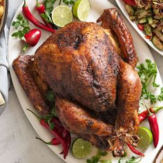Orange Chili-Rubbed Turkey puts a bold, southwestern spin on a Thanksgiving classic!