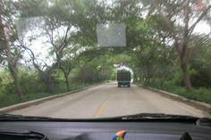 pto lopez, arco natural de bienvenida a los turistas