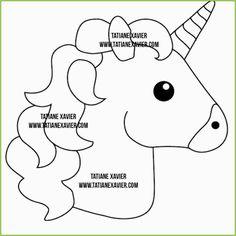 Unicorn Emoji Coloring Page . Unicorn Emoji Coloring Page . Unicorn Head Drawing Easy at Paintingvalley Unicorn Emoji, Unicorn Head, Rainbow Unicorn, Unicorn Pinata, Felt Patterns, Applique Patterns, Felt Crafts, Diy And Crafts, Kids Crafts