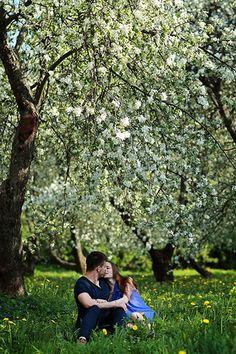 Фотосессия в парке Коломенское (Love Story)