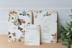 Painted summer wedding invitation,with soft colors and delicate flowers Summer Wedding Invitations, Wedding Stationery, Soft Colors, Brides, Delicate, Wedding Inspiration, Flowers, Cards, Soothing Colors