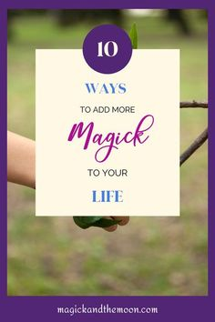 If you suddenly had more time on your hands, what would your magickal practice look like? I've recently had to contemplate it and come up with 10 ways to add magick to your life. #beginnerwitch #witchlife #witchcraft Spiritual Healer, Spiritual Enlightenment, Spiritual Awakening, Spiritual Quotes, Spirituality, Green Witchcraft, Magick Spells, Wiccan Witch, Witchcraft For Beginners
