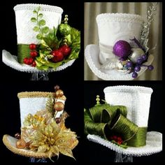 Ideas de sombreros para navidad