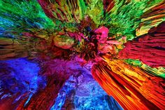explore: Reed Flute Cave, China
