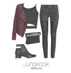 Night out with Hoseok and Maknae Line (Requested by Anon) Hoseok & Jimin & Taehyung & Jungkook Up Next: Spring Outfit with Hyung Kpop Fashion Outfits, Girls Fashion Clothes, Korean Outfits, Swag Outfits, Retro Outfits, Cute Casual Outfits, Outfits For Teens, Stylish Outfits, Bts Clothing