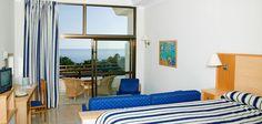 Room at Orquidea Hotel, Bahía Feliz, Gran Canaria. Spain