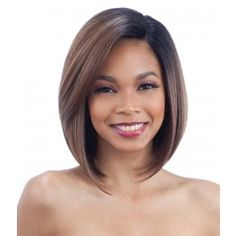Model Model Artist Human Hair Blend AT 216 Lace Front Wig. Made of blended human hair. AT 216 is medium length straight style. Manufactured by Model Model. Bob Hairstyles For Fine Hair, Long Bob Haircuts, Modern Haircuts, Boy Haircuts, Hairstyle Men, Men's Hairstyles, Formal Hairstyles, Bobs For Thin Hair, Short Straight Hair