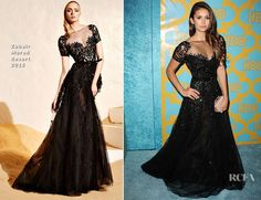 Chopsticks Chic: Be Inspired - Zuhair Murad Spring/Summer 2015 Couture  Nina Dobrev at the HBO Post Golden Globe Party