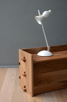I need this lamp for my currently non-existent desk. I would buy a desk for this little guy to live on:)